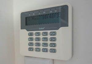 Tipkovnica za alarm